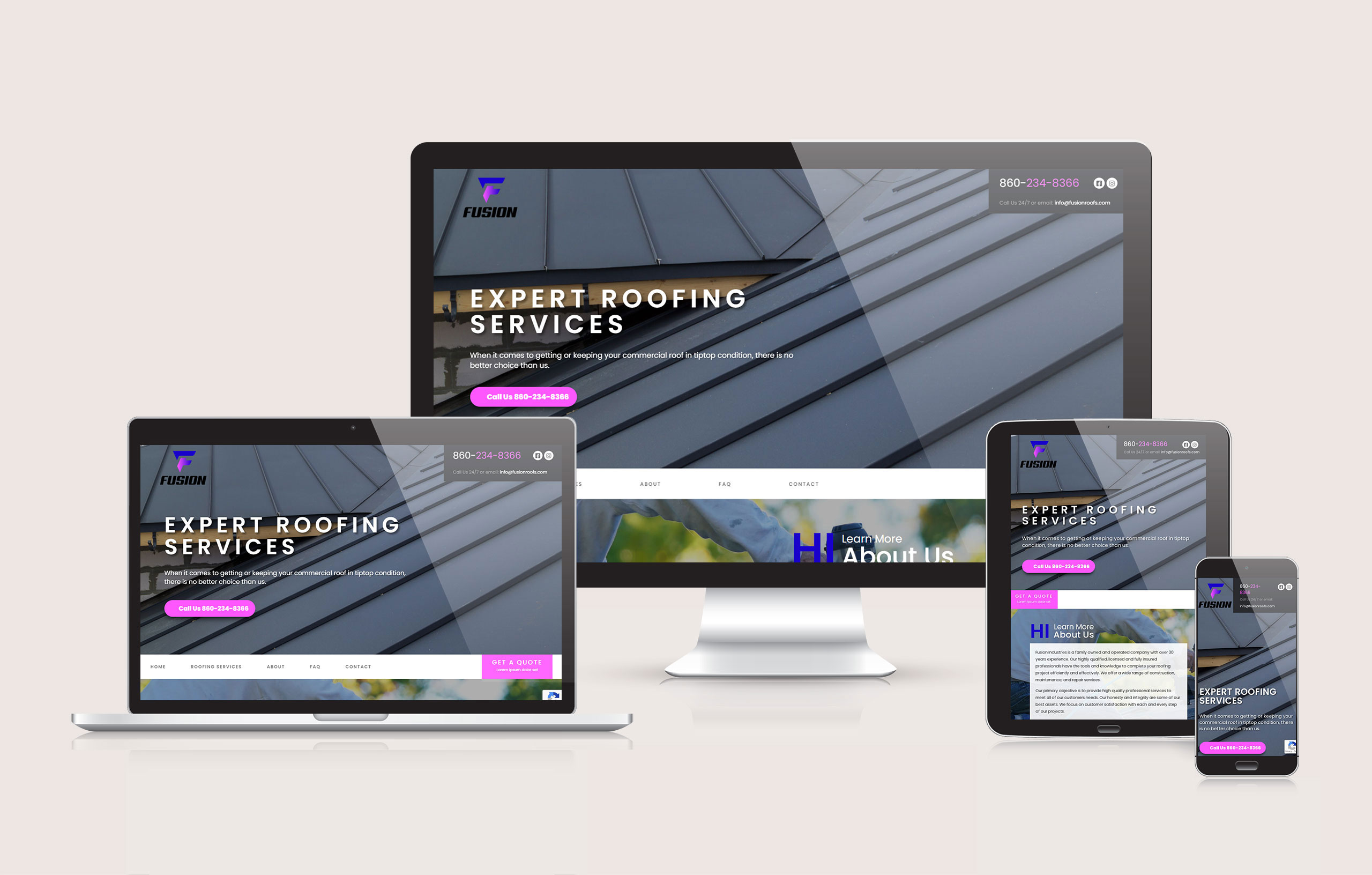 Fusion Roofs Responsive Image